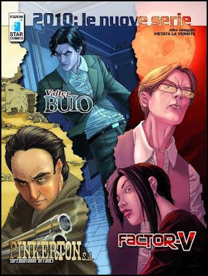 Valter Buio_Pinkerton S.A._Factor V_Sergio Stivaletti_Star Comics