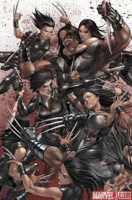 X-men Necrosha comics fumetto Marvel cover copertina