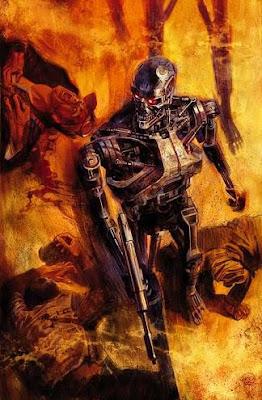 Terminator Massimo Carnevale fumetto copertina