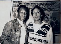 Com o Rei Pelé na Redação de A Gazeta Esportiva