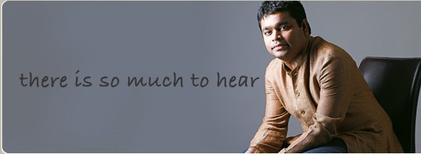 "AR RAHMAN "" THE MAN -THE MUZIK -THE MAGIC"""