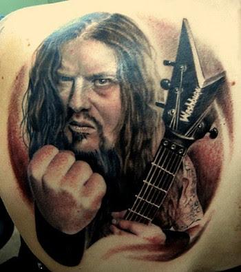 Full Body Guitar Tattoo Design | TATTOO DESIGN