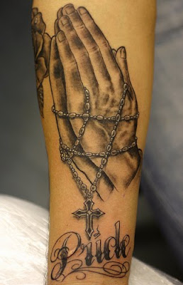 Hands Tattoo, tattoo design