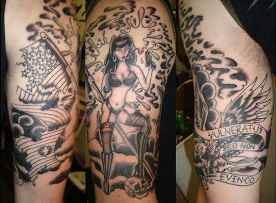 Collection tattoo, sleeve tattoo