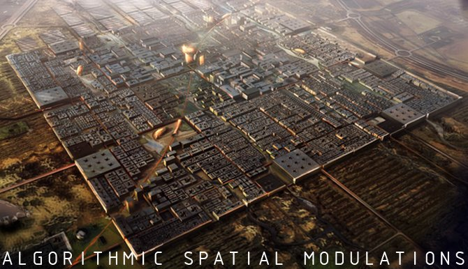 Algorithmic Spatial Modulations