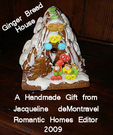 Jacqueline's Gingerbread House