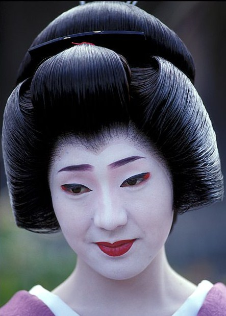 Ŧhe ₵oincidental 208 Andy The Intricate Hairstyles Of Geisha
