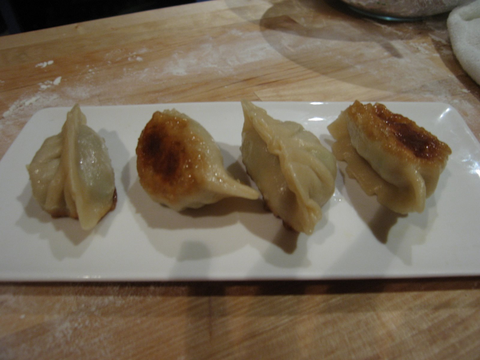 ... Cooks' Challenge – Chinese dumplings/Potstickers | Trissalicious