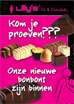 Poster Lillys IJs en Chocolade