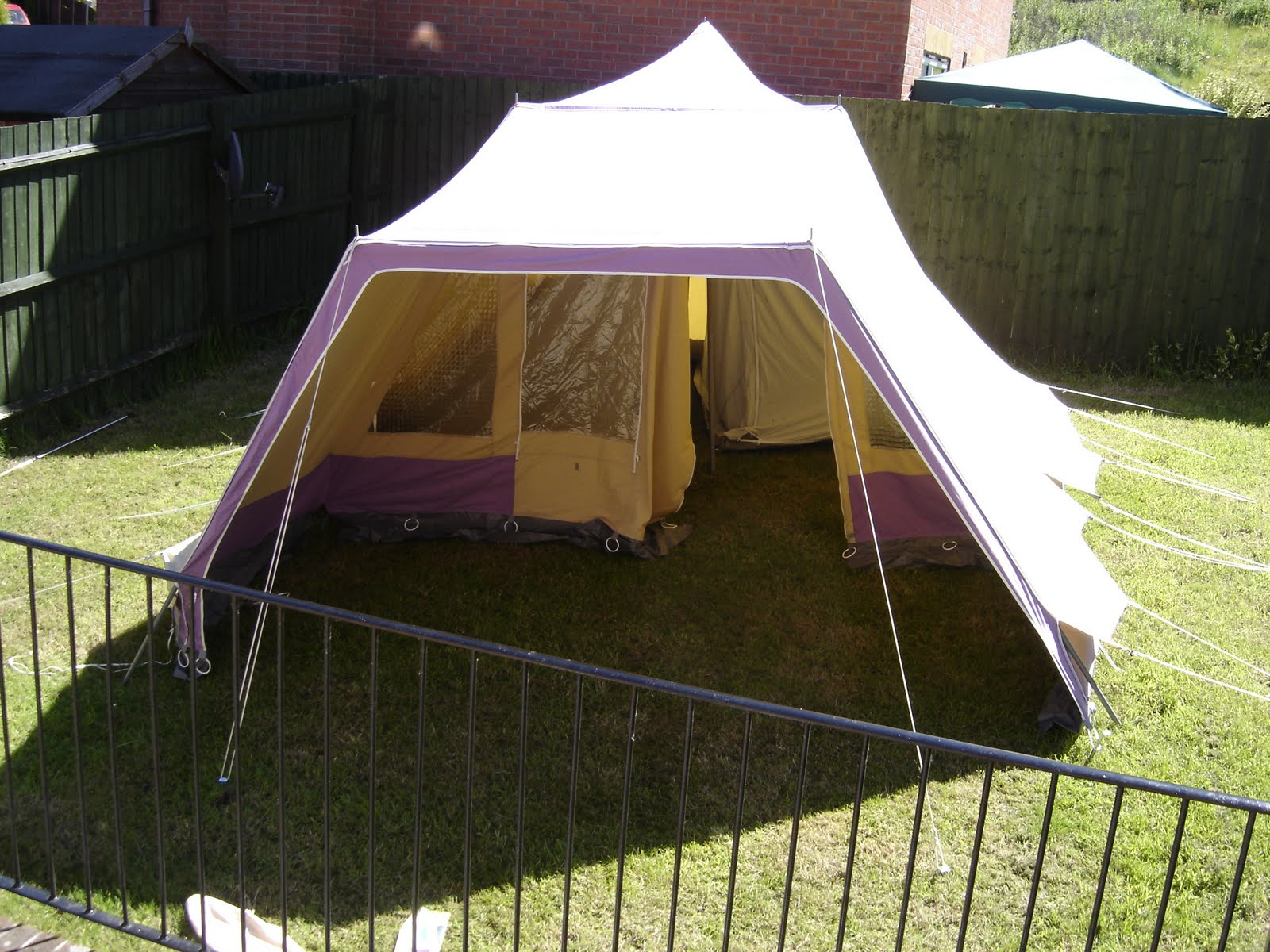 A New Tent & Owl Family Diary: A New Tent