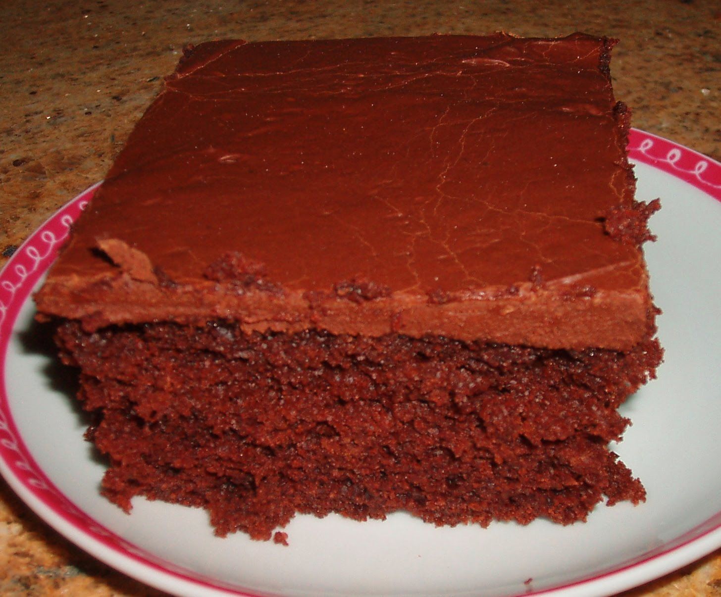 The Pastry Chef's Baking: Hershey's Old-Fashioned Chocolate Cake