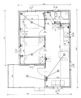 Electricidad plano electrico de vivienda for Plano instalacion electrica
