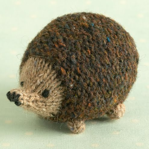 Spotted On Folksy- Cute Hedgehog knitting pattern ...