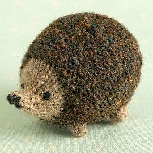Hedgehog Slippers Knitting Pattern : Spotted On Folksy- Cute Hedgehog knitting pattern ...
