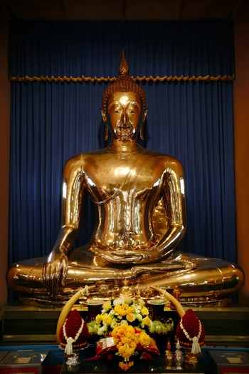 golden spring buddhist personals Buddha's blue footprint signed painting in blue of buddha's footprint from thailand.