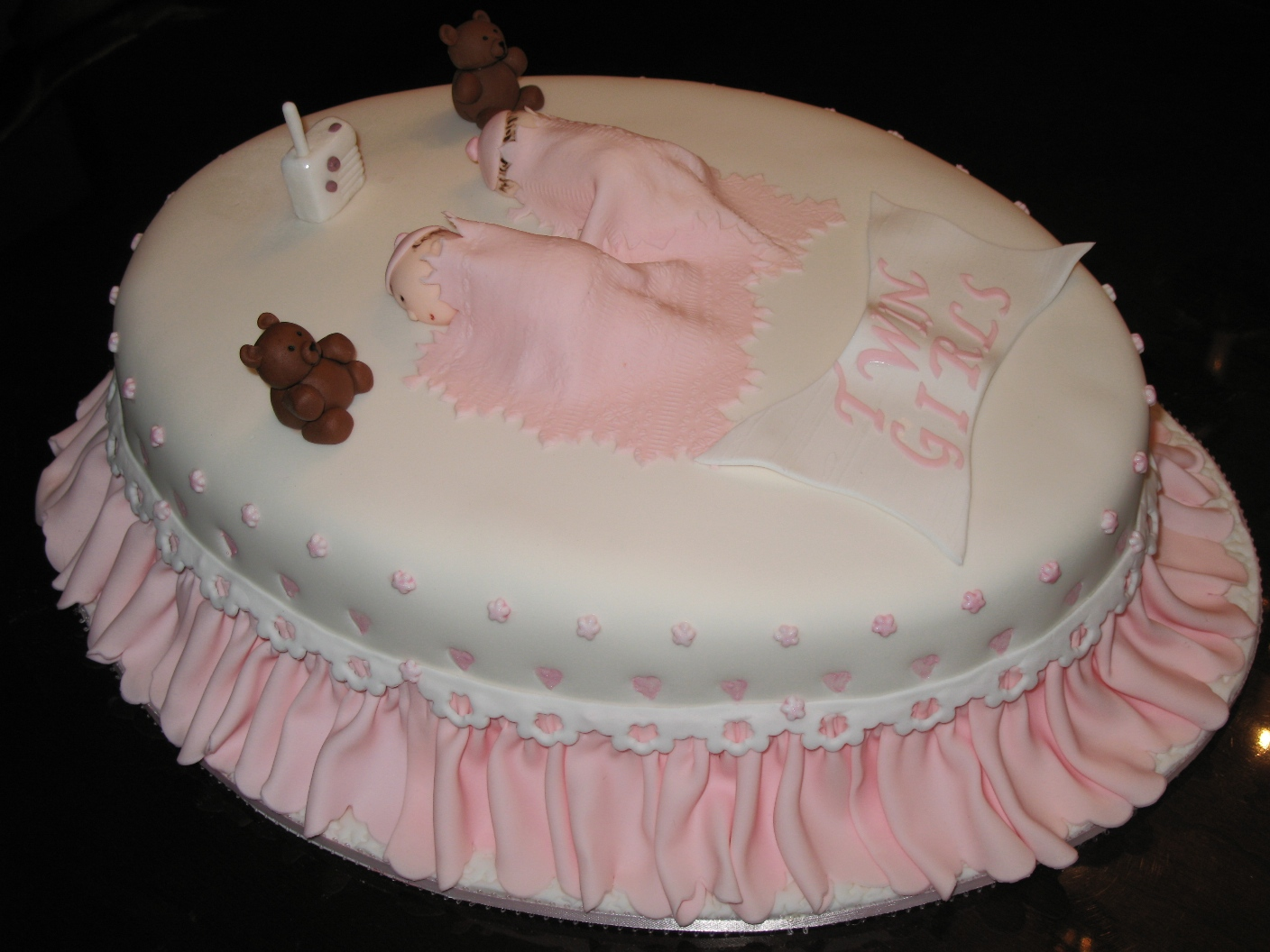 Cake Design Baby Shower Girl : Cute Baby Shower Cake Designs For Girls - Best Collections ...