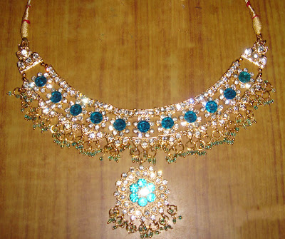 bridal neck set