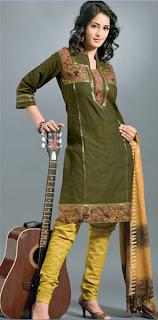 Different pattern of salwar kameez