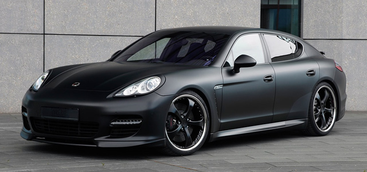 2010 Techart Porsche Panamera Black Edition. Panamera Techart Special