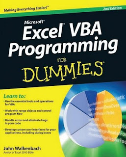 Excel VBA Programming For Dummies - John Walkenbach,Dummies Free Ebook, Ms-Excel VBA Programming