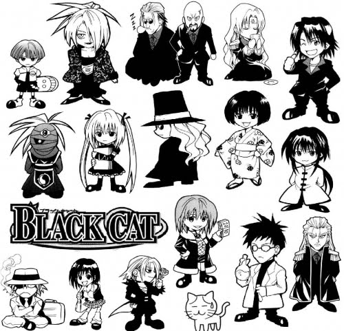BLACK CAT MANGA CHARACTER INFORMATION | BoxAnimeManga :: The ...
