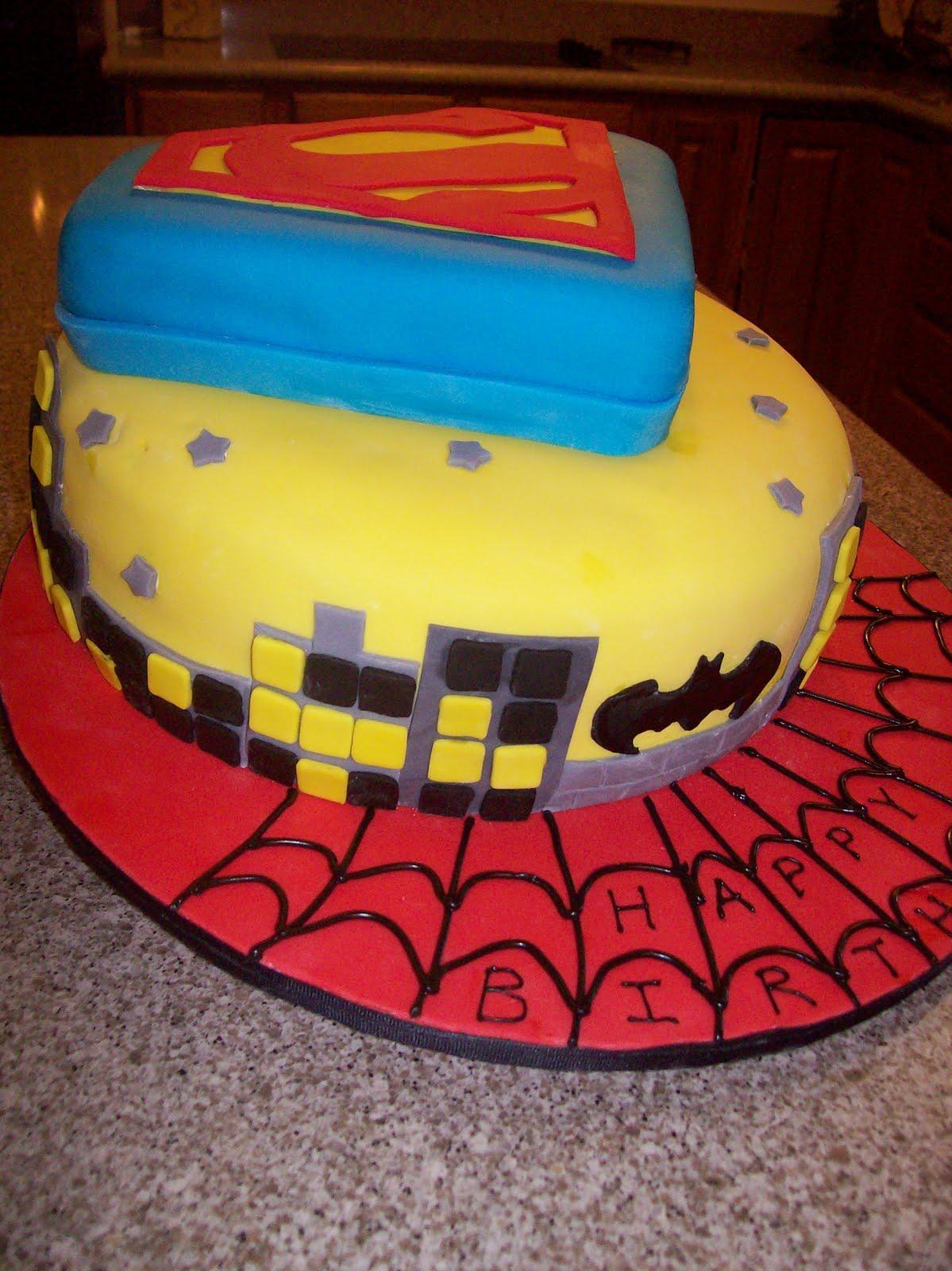 The Sugar Shack Superhero cake