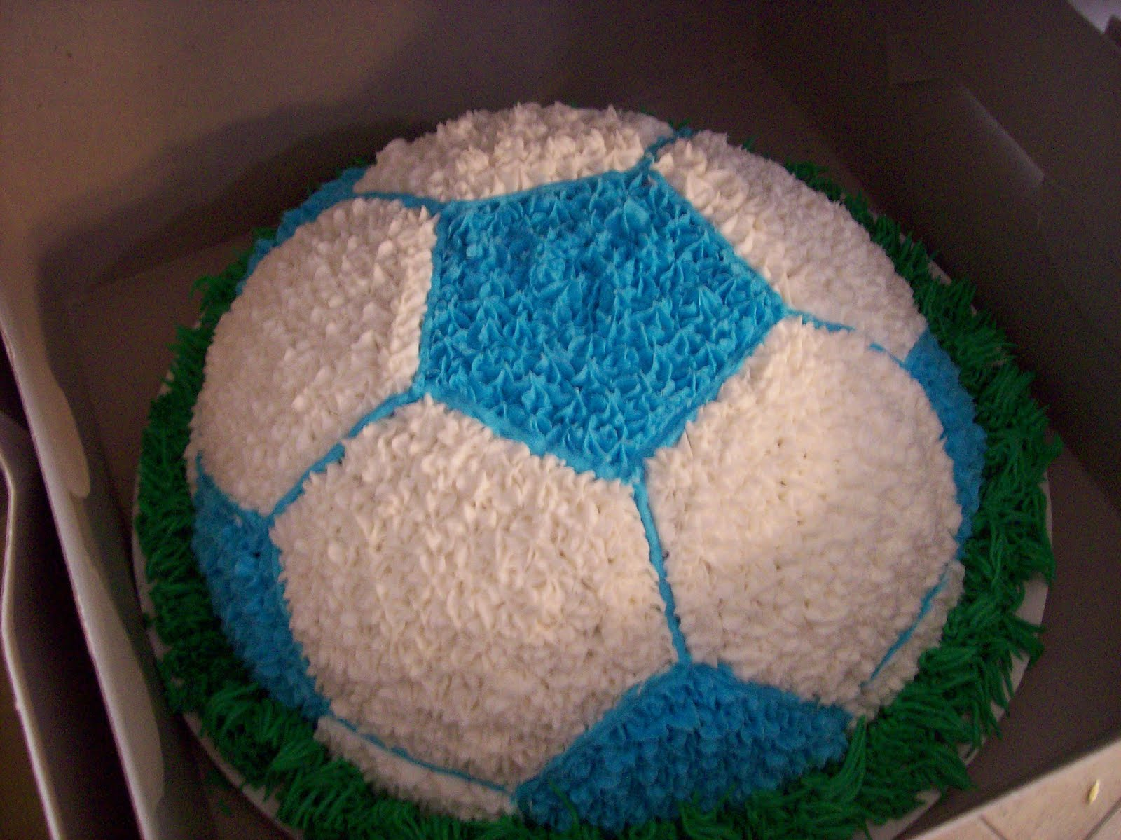 The Sugar Shack Soccer Ball Cake