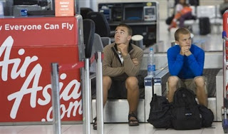 Stranded Tourists at Suvarnabhumi Airport