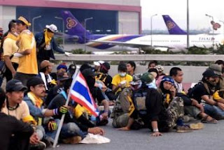 Suvarnabhumi Airport Closed
