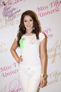 Sorrawee Nattee, Miss Tiffany's Universe 2009
