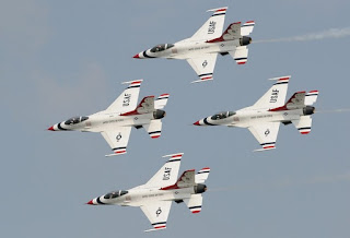 Thunderbirds F-16 Falcon in Thailand