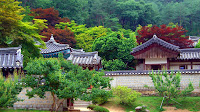 Entrance of 도산서원 (Dosan Seowon)
