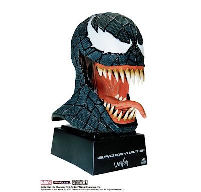spiderman 3 venom mask. Spiderman 3 Masks are also