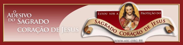 Adesivo do Sagrado Coração de Jesus