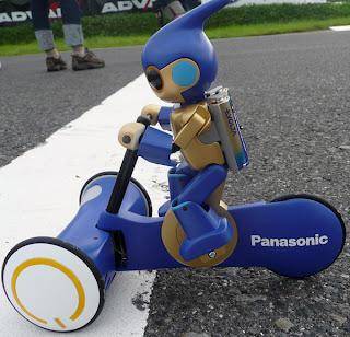 Evolta, robot yang menjadi maskot perusahaan elektronik asal Jepun