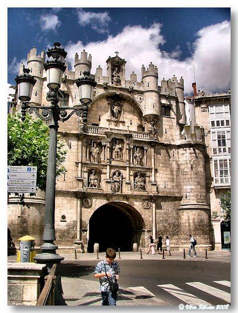 Arco de Santa Maria em Burgos
