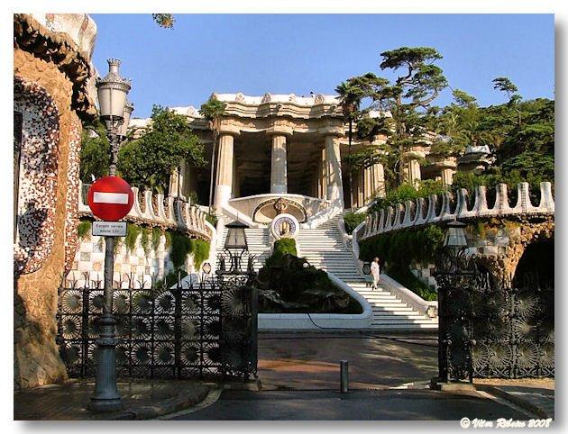 Parque Güel em Barcelona