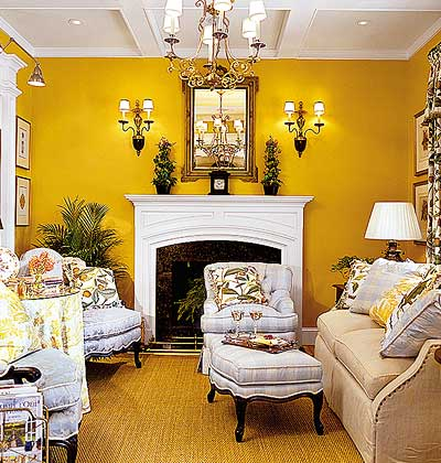 Neutral Living Room Designs on Yellow Windows     Such A Tough Job For A Living Room
