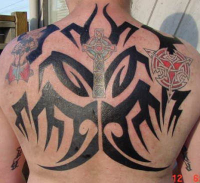 Celtic Cross Tattoo,tattoo design,art tattoo,full back tattoo