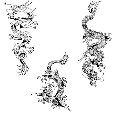 This is the Tribal Tattoo Dragon Art Gallery's content: