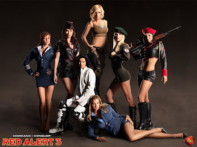 red alert wallpaper. Red Alert 3 EA - Sexy Women