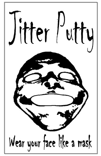 The final morph: Jitter Putty: Wear your face like a mask