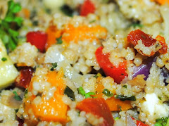 Couscous salad with roasted vegetables