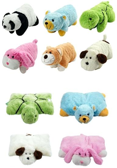 Animal Pillow Relaxation : Chi-Town Cheapskate: Cuddlee Pet Plush Stuffed Pillow Sets $7.98 Shipped