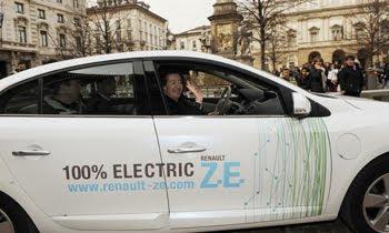 auto elettrica sindaco moratti