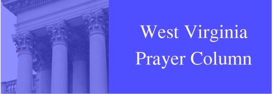 West Virginia Prayer Column
