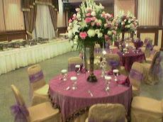 Meja VIP Pada Resepsi