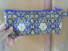 Contoh Souvenir Kami : Tempat Pensil dari Batik