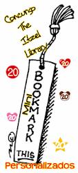 Concurso internacional: Itzel Library minibookmarks