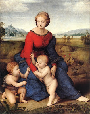 Madonna Of The Meadow image